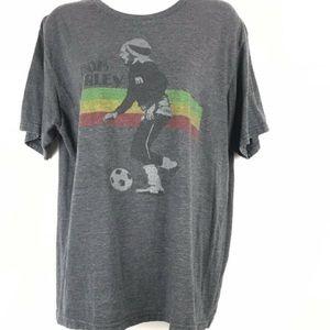 Bob Marley soccer T-shirt